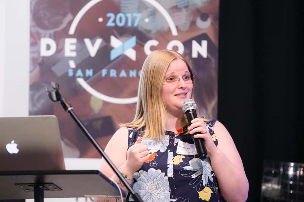 Sarah Sharp at DevXcon